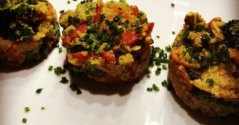 Quinoa Gemüse Pfanne