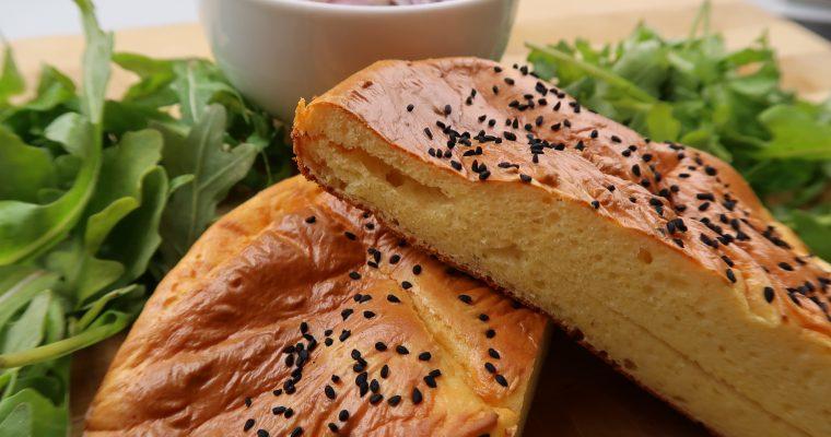 Pita Brot – mit schwarzem Kümmel – Low Carb