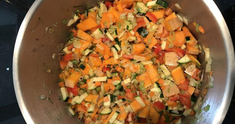 Gemüse Tomatensoße – mit 8 Gemüsesorten